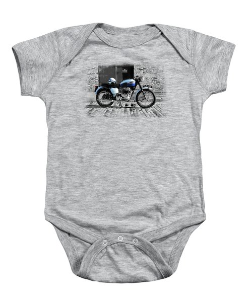 Triumph Bonneville T120 Baby Onesie by Mark Rogan