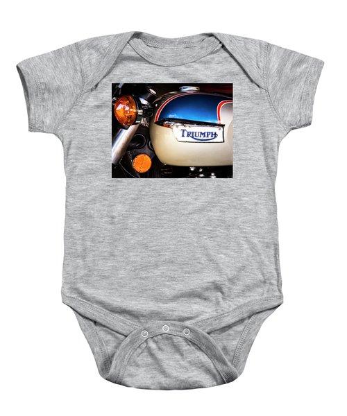 Triumph Motorcyle Baby Onesie