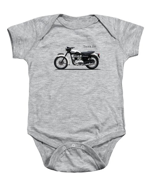 Triumph Tiger 1959 Baby Onesie