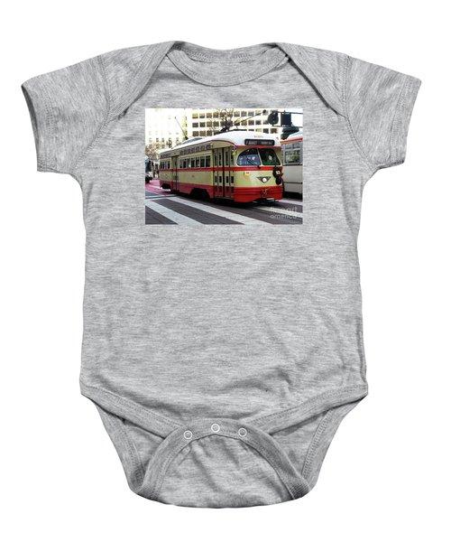 Trolley Number 1079 Baby Onesie