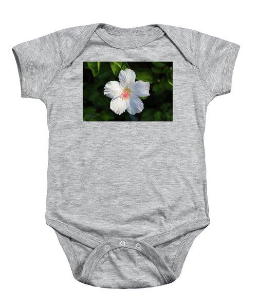 Tropical Flower 2 Baby Onesie