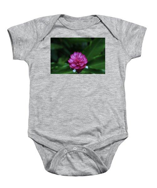 Tropical Flower Baby Onesie