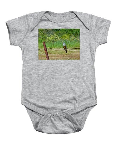 Tropical Kingbird Baby Onesie