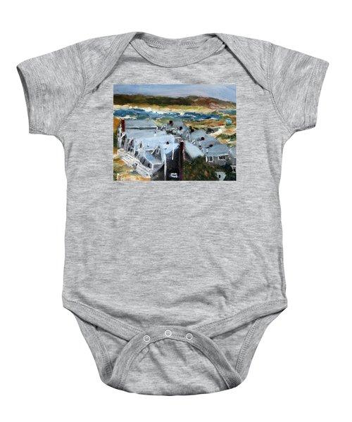 Roseville Beach Colony Baby Onesie