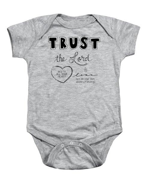 Trust Baby Onesie