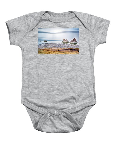 Tufa Formations At Mono Lake Baby Onesie