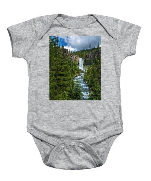 Tumalo Falls Baby Onesie