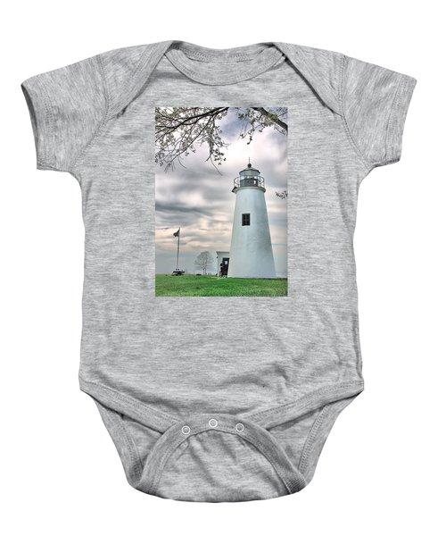 Turkey Point Lighthouse Baby Onesie