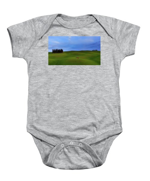 Tuscan Landscaping Baby Onesie
