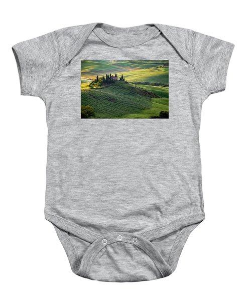 Green Hills Of Val De L' Orca Tuscan Villa Baby Onesie