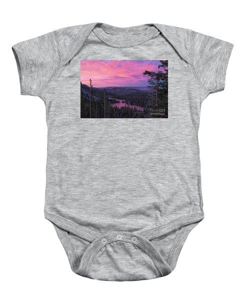 Twilight Mammoth Lakes  Baby Onesie