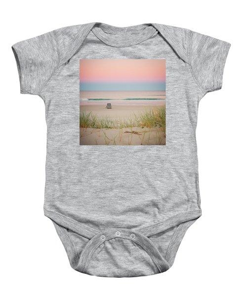 Twilight On The Beach Baby Onesie