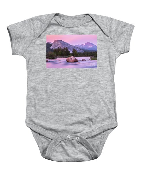 Baby Onesie featuring the photograph Twilight  by Vincent Bonafede