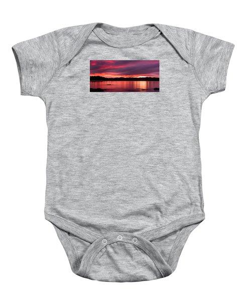 Twofold Bay Sunset Baby Onesie