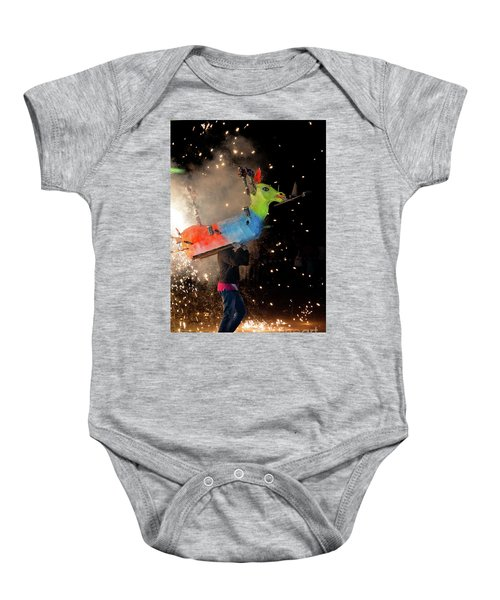 Typical Festival Plaza South Italy Baby Onesie