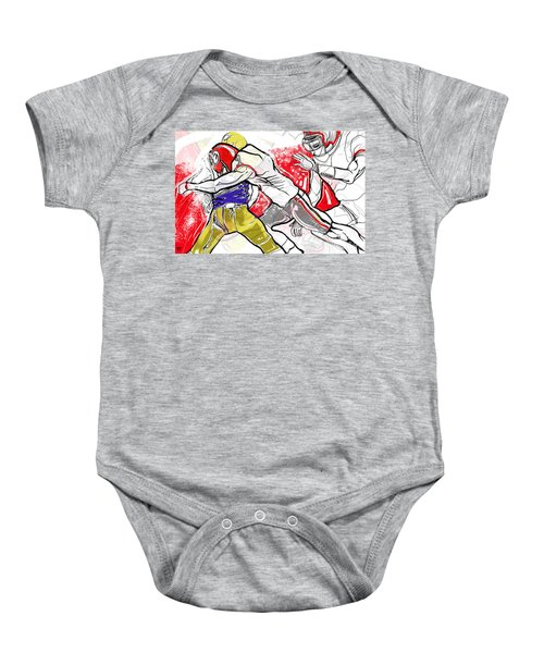 Uga 2017 Lorenzo Baby Onesie