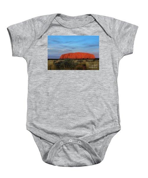 Uluru Sunset 03 Baby Onesie