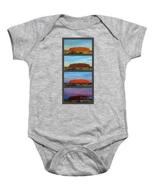 Uluru Sunset Baby Onesie