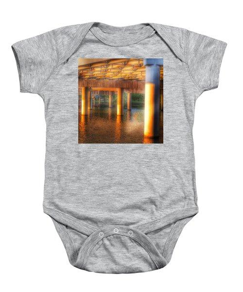 Under The Boardwalk Baby Onesie