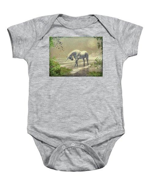 Unicorn Moon Baby Onesie