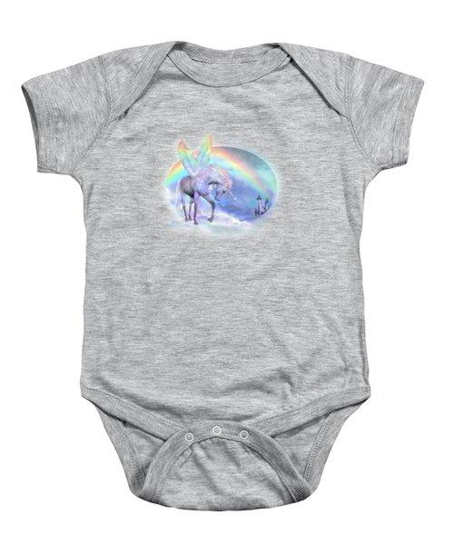 Unicorn Of The Rainbow Baby Onesie