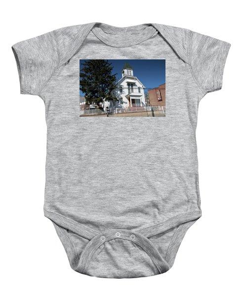 Union Evangelical Church Of Corona Baby Onesie