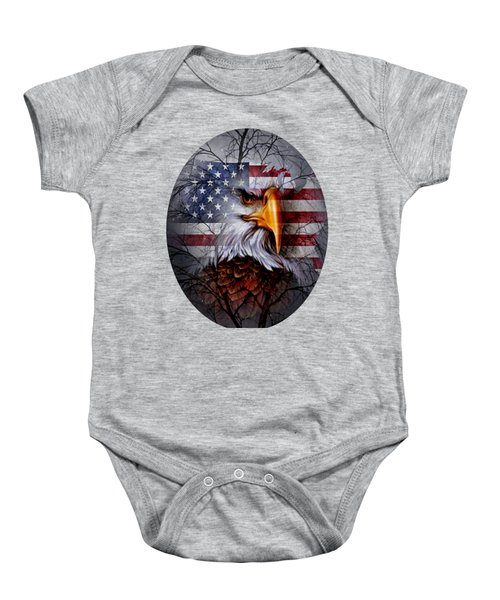 United States National Bird 3 Baby Onesie