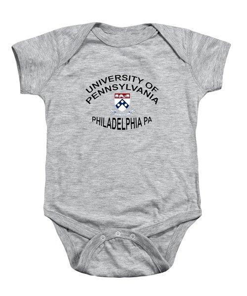 University Of Pennsylvania Philadelphia P A Baby Onesie by Movie Poster Prints