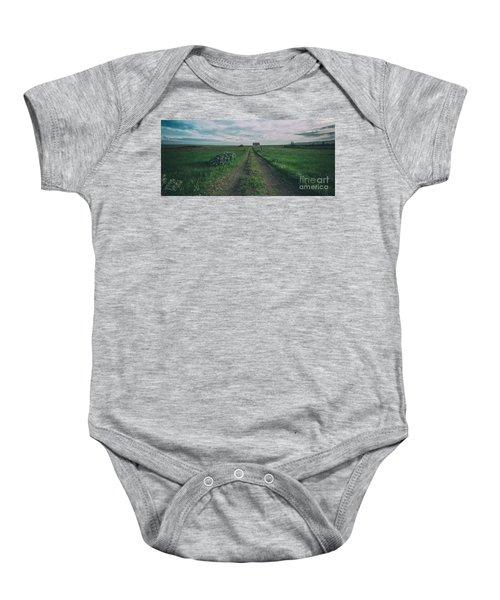 Unknown Road Baby Onesie