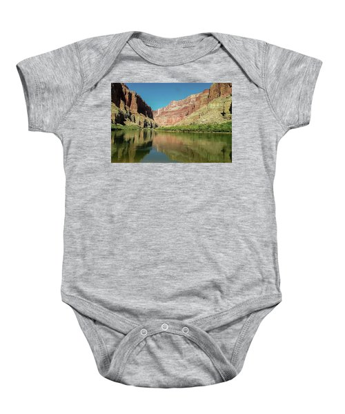 Up The  Colorado River From Littlle Nankoweap Beach Baby Onesie