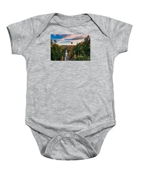 Up, Up And Away Baby Onesie