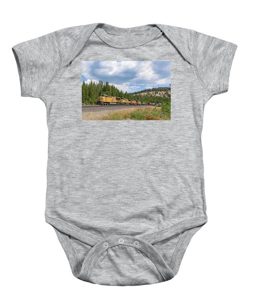 Up2650 Westbound From Donner Pass Baby Onesie