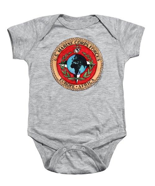 U.s. Marine Corps Forces Europe - Africa Baby Onesie