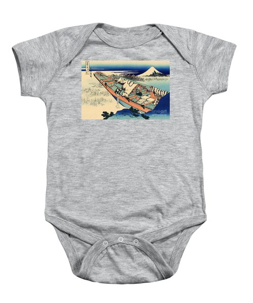 Ushibori In The Hitachi Province Baby Onesie