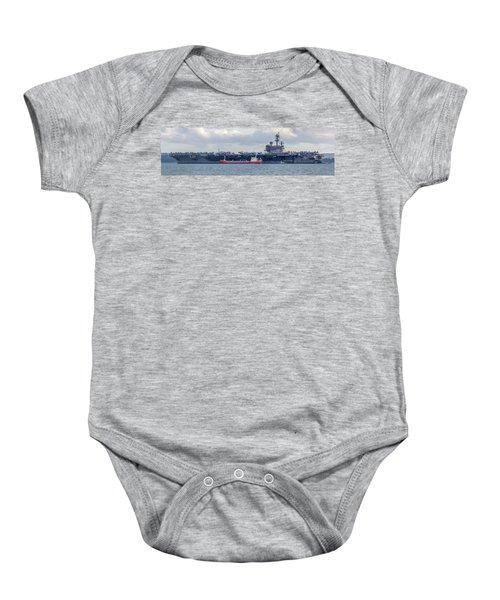 Uss George H.w Bush. Baby Onesie