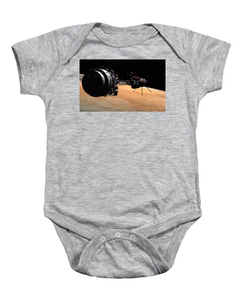 Uss Hermes 1 In Orbit Baby Onesie