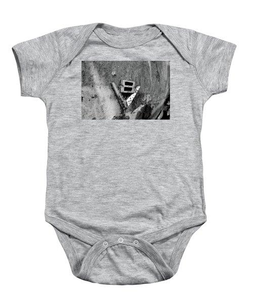V8 Emblem Baby Onesie