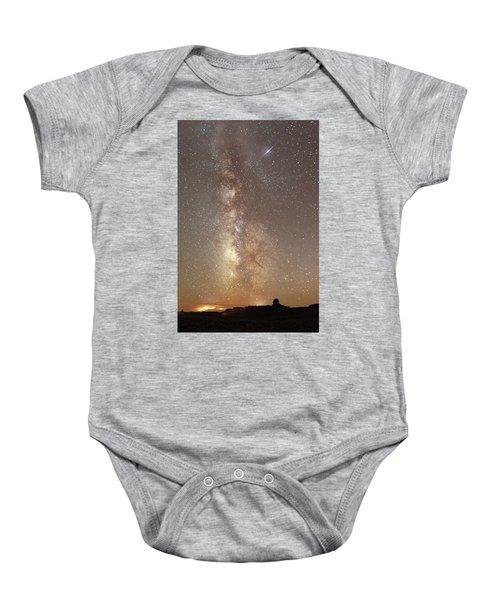 Valley Of The Gods Milky Way Baby Onesie
