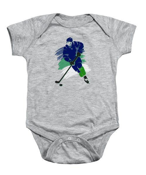 Vancouver Canucks Player Shirt Baby Onesie
