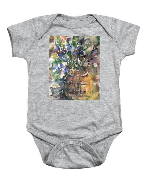Vase Of Many Colors Baby Onesie