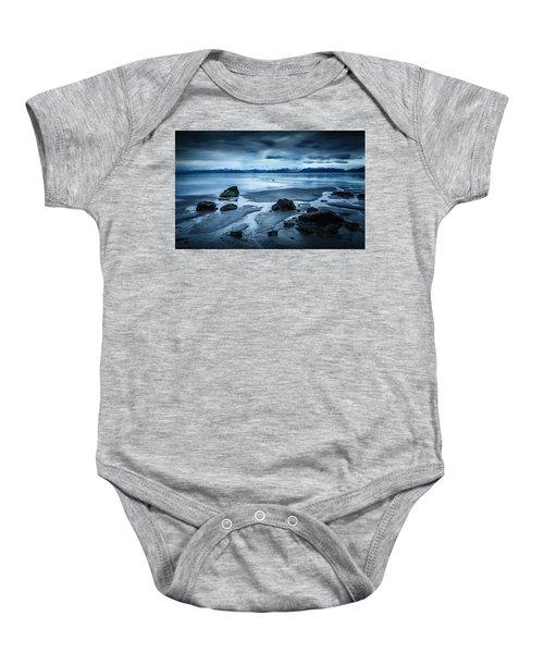 Vatnajokull From Stokksnes Baby Onesie