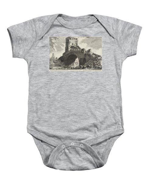 Veduta Del Ponte Salario Baby Onesie