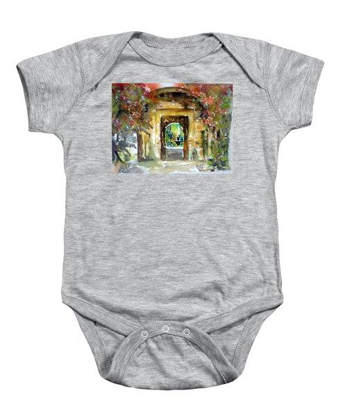 Venetian Gardens Baby Onesie