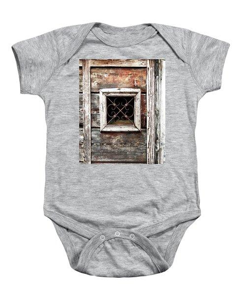 Venetian Window Baby Onesie