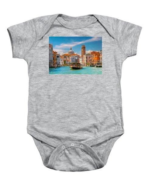 Venezia. Fermata San Marcuola Baby Onesie