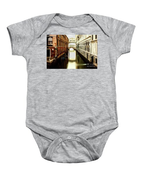 Venice Bridge Of Sighs Baby Onesie