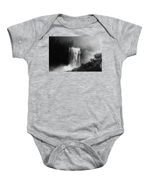 Vernal Fall And Mist Trail Baby Onesie