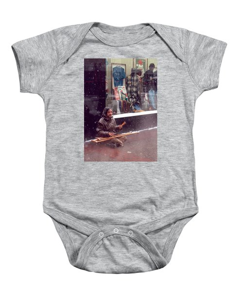 Vet Selling Pencils Baby Onesie