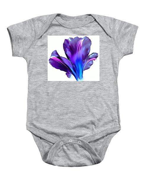 Vibrant Amaryllis Baby Onesie