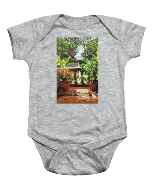 View From The Royal Garden Baby Onesie